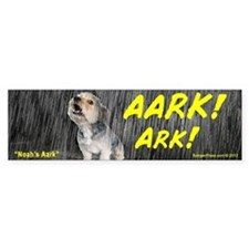 Noah's Ark Bumper Car Sticker