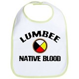 Lumbee Native Blood Bib