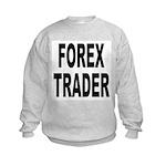 Forex Trader (Front) Kids Sweatshirt