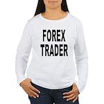 Forex Trader Women's Long Sleeve T-Shirt