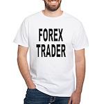 Forex Trader White T-Shirt