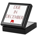 Due in December Keepsake Box