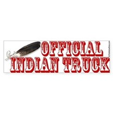 Official Indian Truck Bumper Bumper Sticker