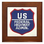 Highway Administration Framed Tile