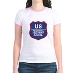 Highway Administration Jr. Ringer T-Shirt