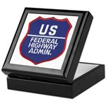 Highway Administration Keepsake Box