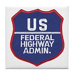 Highway Administration Tile Coaster