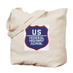 Highway Administration Tote Bag