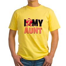 I Love My Aunt T-Shirt