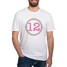 Number 12 Sherbert Zig Zag Shirt