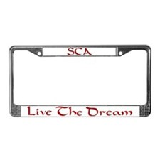 Cute Service License Plate Frame