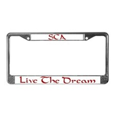 Funny Society creative anachronism License Plate Frame