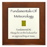 Fundamentals Of Meteorology Framed Tile
