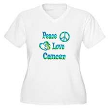 Peace Love Cancer T-Shirt