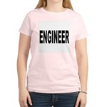 Engineer (Front) Women's Pink T-Shirt