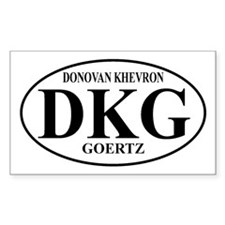 DKG Rectangle Decal