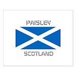 Paisley Scotland Small Poster