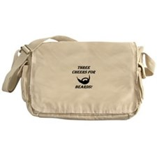Three Cheers For Beards! Messenger Bag