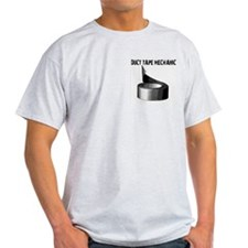 Duct tape mechanic. Funny Ash Grey T-Shirt