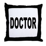 Doctor Throw Pillow