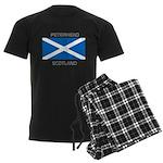 Peterhead Scotland Men's Dark Pajamas