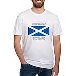 Peterhead Scotland Fitted T-Shirt
