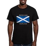 Peterhead Scotland Men's Fitted T-Shirt (dark)