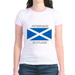 Peterhead Scotland Jr. Ringer T-Shirt