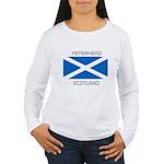 Peterhead Scotland Women's Long Sleeve T-Shirt