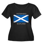 Peterhead Scotland Women's Plus Size Scoop Neck Da