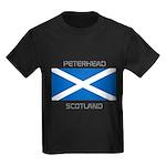 Peterhead Scotland Kids Dark T-Shirt