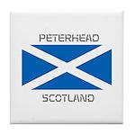 Peterhead Scotland Tile Coaster