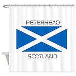 Peterhead Scotland Shower Curtain