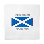 Peterhead Scotland Queen Duvet