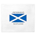Peterhead Scotland King Duvet
