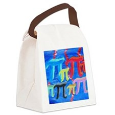 Forest of Pi Canvas Lunch Bag