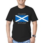 Polmont Scotland Men's Fitted T-Shirt (dark)