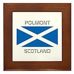 Polmont Scotland Framed Tile