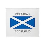 Polmont Scotland Throw Blanket