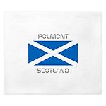 Polmont Scotland King Duvet