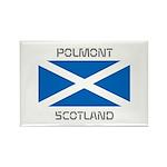 Polmont Scotland Rectangle Magnet (10 pack)