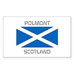 Polmont Scotland Sticker (Rectangle 50 pk)