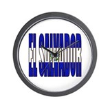 El Salvador Wall Clock