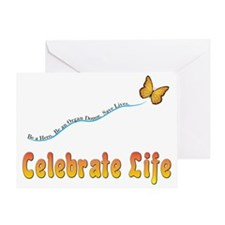 CelebrateLife2a Greeting Card