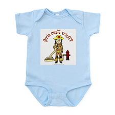 Firefighter Girl Infant Bodysuit