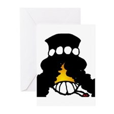 Slash Smiley Greeting Cards (Pk of 10)