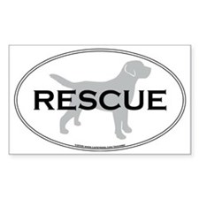 RescueOval Decal