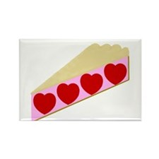 Valentine Pie Rectangle Magnet (10 pack)