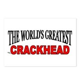 """The World's Greatest Crackhead"" Postcards (Packag"