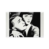 Louise brooks society Rectangle Magnet